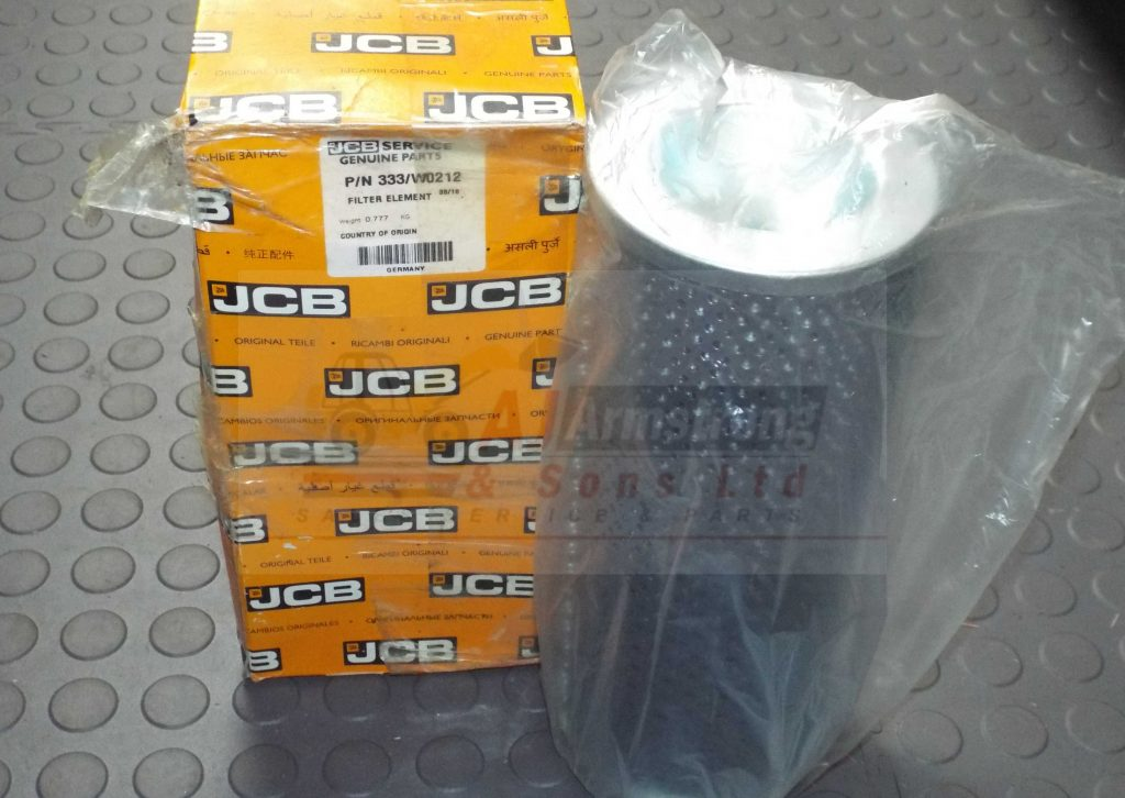 JCB Element Return (333/W0212) - AJ Armstrong & Sons Parts